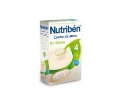 nutriben crema arroz sin gluten 300 gr.